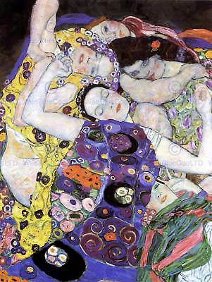 $ CDN15.56 • Buy Gustav Klimt Klimt Virgin Old Master Art Painting Print Poster 1126om