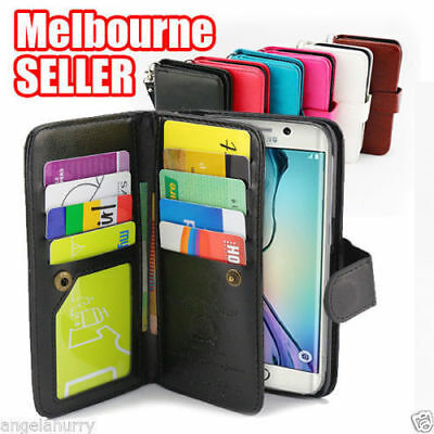 AU9.89 • Buy Soft Leather Magnetic Flip Case Cover For Apple IPhone 6 6S Plus 7 8 Plus X