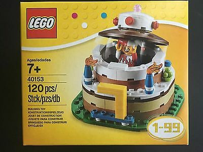 LEGO New In Box 40153 Seasonal Set Birthday Cake Table Decoration Topper O 1599