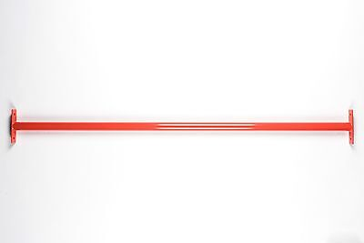 Wooden Post Metal Pull Up Bar System: Climbing Frame Kids Outdoor Exercise 900mm • 79.45£