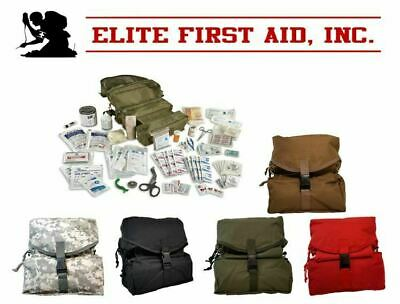 $59.95 • Buy M-3 Fully Stocked Tri-Fold Medic Bag Kit By Elite First Aid FA108