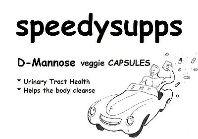 AU20.99 • Buy D-Mannose 30 Veggie Caps 500mg Urinary Tract Health Vegan Capsules Tablet Pill