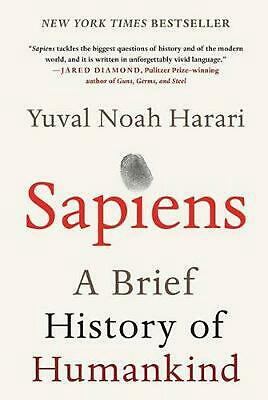 AU61.29 • Buy Sapiens: A Brief History Of Humankind By Yuval Noah Harari (English) Hardcover B
