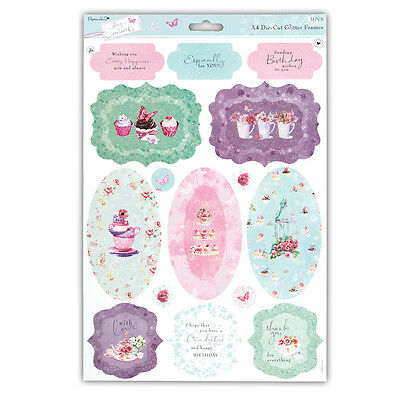 Papermania Lucy Cromwell Glitter Toppers  For You  Great For Cards & Crafts • 1.25£