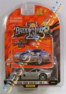 $5.95 • Buy 2005 '05 Ford Shelby Gr-1 Concept Silver Diecast 1 Badd Ride