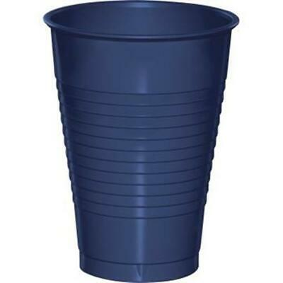 Navy Blue 12oz Plastic Cups 20 Per Pack Blue Decorations & Party Supplies • 2.78£