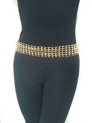 £2.50 • Buy Stunning Gold Effect Thick Hoop Style Belt