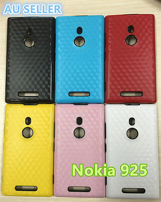 AU2.99 • Buy NEW Nokia Lumia 925 Water Pattern Slim Soft Silicone Rubber Gel Back Cover Case