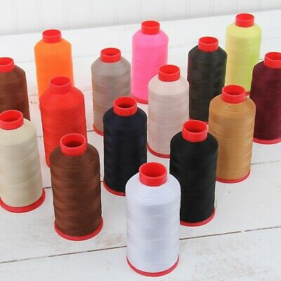 £9.45 • Buy Bonded Nylon Sewing Thread #69 Cones Tex70 Upholstery Canvas Leather Outdoor
