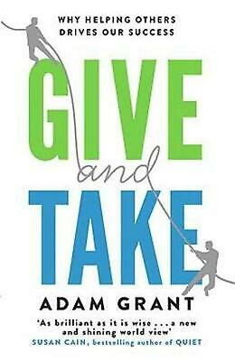 AU24.79 • Buy Give And Take: Why Helping Others Drives Our Success By Adam Grant (English) Fre
