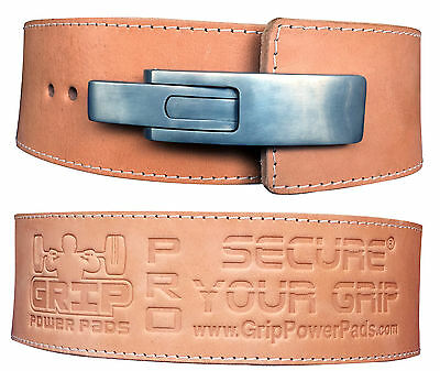 £101.65 • Buy Weight Power Lifting Leather BuckLever Pro Belt Gym Training 13MM Thick 4  Wide