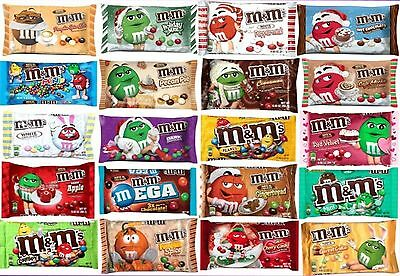 $5.99 • Buy NEW! Mars M&m's LIMITED EDITION FLAVORS Chocolate Candies YOU PICK Candy M&ms