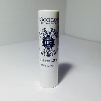 L'occitane SHEA BUTTER ULTRA RICH LIP BALM 0.07oz/2g • 8.58£