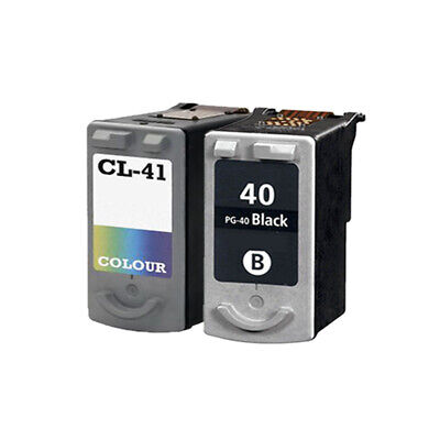 £31.10 • Buy 2 Remanufactured Ink Cartridge For Canon IP1700 IP1800 IP1900 IP2200 PG40 CL41