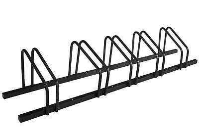 AU63.99 • Buy 1 - 5 Bike Floor Parking Rack Storage Stand Bicycle Black