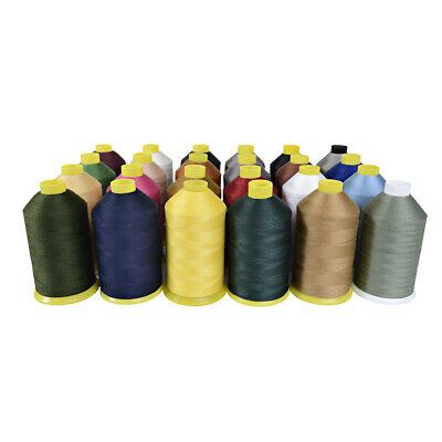 £13.49 • Buy 4000mtr Poly-cotton-heavy Duty Sewing Machine Thread M36 Upholstery Leather Work