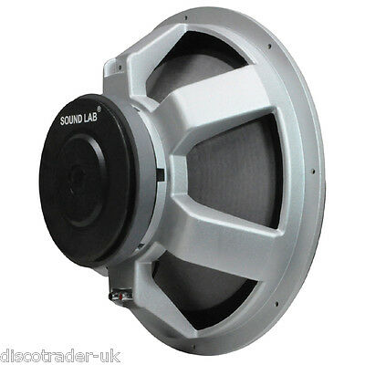 £79 • Buy 38.2cm 15  CHASSIS SPEAKER 8 OHM 400 WATT RMS Or 650 WATTS MAX L042H
