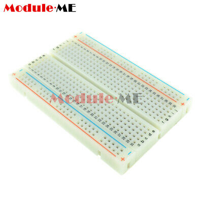 £0.99 • Buy Mini Universal Solderless Breadboard 400 Contacts Tie-points Available