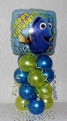 Disney - Finding Dory -  Birthday -nemo - Foil Balloon Display-table Centrepiece • 5.90£