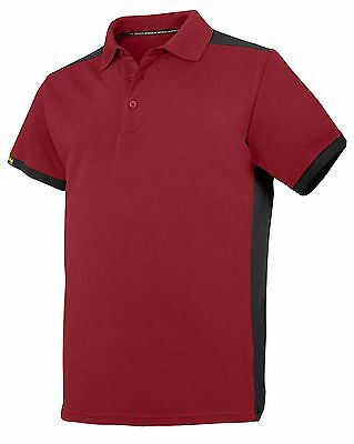 AU36.67 • Buy Snickers Workwear 2715 AllroundWork Polo Shirt Red