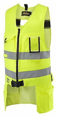£69.53 • Buy Snickers 4233 High-Vis Tool Vest Hi Vis Tool Vest SnickersDirect All Colours