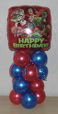 £5.90 • Buy  Disney- New -toy Story - Buzz & Woody - Foil Balloon Display -table Centrepiece