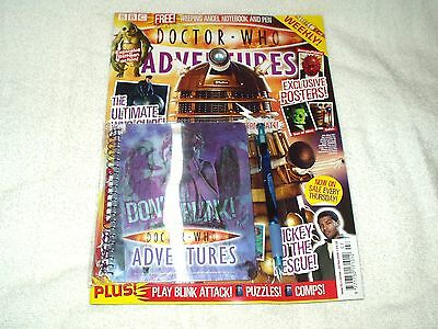 Doctor Who Adventures DWA Magazine Issue 51 15th February 2008 With Notebook Pen • 7£