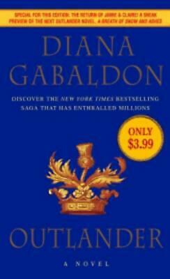 AU24.60 • Buy Outlander: A Novel By Diana Gabaldon (English) Mass Market Paperback Book Free S