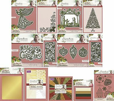 £6.49 • Buy Sara Davies Traditional Christmas Signature Collection Dies Stamp Prices Reduced