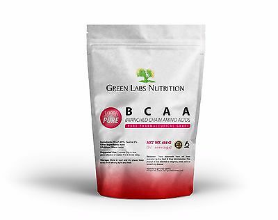 AU24.47 • Buy BCAA BRANCHED CHAIN AMINO ACIDS POWDER 454g FREE FORM FREE WORLD SHIPPING
