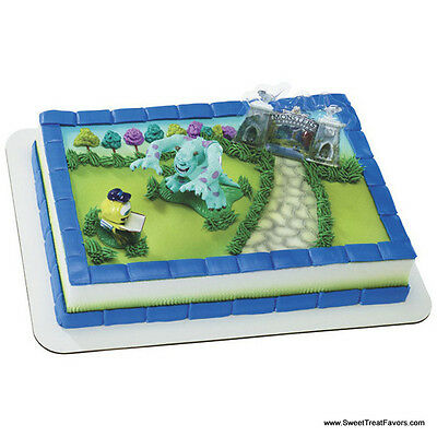 Monsters INC Cake Party Birthday Supplies Decoration Cupcake Kit Sully Boo Mike  • 7.20£