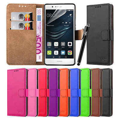 £4.45 • Buy Wallet Flip Book [Stand View] Case Cover For Alcatel & Huawei Mobile Phones