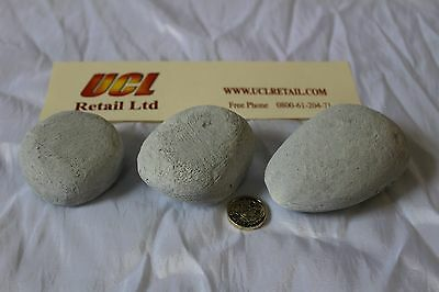 NEW Gas Fire Pebbles (15) FREE POST NEW • 13.97£
