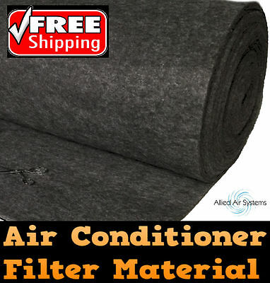 AU29.99 • Buy Air Conditioner Return Air Filter Media Material Aircon 550x1150mm Replacement