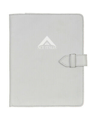 $35.41 • Buy IPAD Cover 2,3,4 White Soft Lambskin Luxury Real Genuine Leather Case Stand