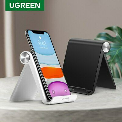 $5.09 • Buy UGREEN Universal Desk Stand Holder Cradle For IPhone Samsung Cell Phone Tablet