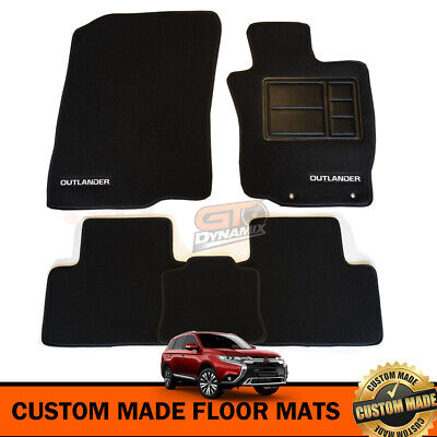 AU119.95 • Buy Custom Made Floor Mats Mitsubishi Outlander ZJ ZK EXCEED VRX LS 11/2012-20 BLACK