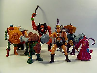 $49.99 • Buy McDONALDS MASTERS OF THE UNIVERSE 8 TOY COMPLETE SET HE-MAN SKELETOR MIP