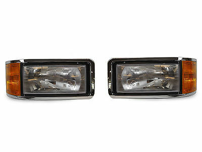$279.93 • Buy DEPO OE-Replacement Headlight Set For 1990-2006 Mack CH600 Commercial Truck
