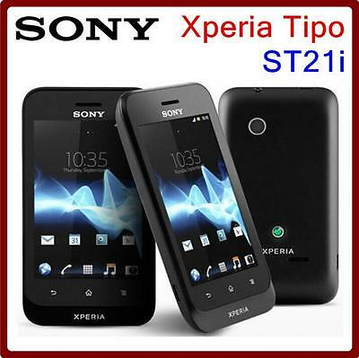 £36.64 • Buy Sony Xperia Tipo ST21i Original Mobile Phone 3.15MP Camera 3G GPS WIFI Android