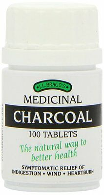 £6.40 • Buy Bragg's Charcoal - 100 Tablets