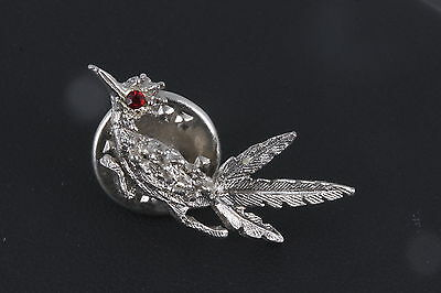 Costume Red Stone Mini Roadrunner Pin/ Brooch Fashion 3157 • 14.35£
