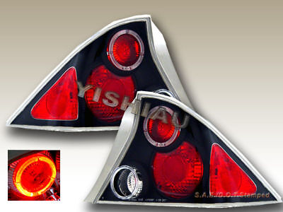 $92.99 • Buy Fit For 2001-2003 Honda Civic 2Dr Altezza Tail Lights G2 Halo Black