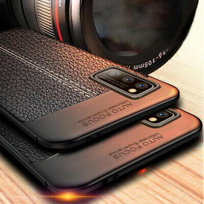 $ CDN4.48 • Buy Soft Leather TPU Cover Case For Samsung S20 Note 20 Ultra S10 Plus A71 A51 A21s