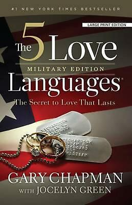 AU38.18 • Buy The 5 Love Languages, Military Edition: The Secret To Love That Lasts By Gary Ch