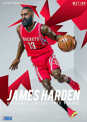 $243.18 • Buy NBA COLLECTION: JAMES HARDEN MOTION MASTERPIECE 1/9 Action Figure 8  ENTERBAY