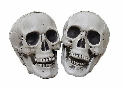 $14 • Buy Small Gothic Skull Bones Skeleton Halloween Realistic Party Punk Prop Toy Horror