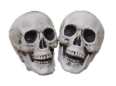 $15.27 • Buy Small Gothic Skull Bones Skeleton Halloween Realistic Party Punk Prop Toy Horror