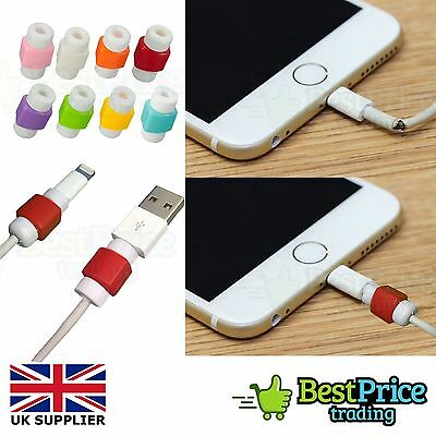 USB Cable Wire Charger Protector Saver For IPhone Macbook Samsung Sony HTC • 0.99£