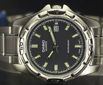 AU59 • Buy GENUINE AND NEW Casio Men's Classic Watch MTP-1244D-8A With BLACK DIAL FACE